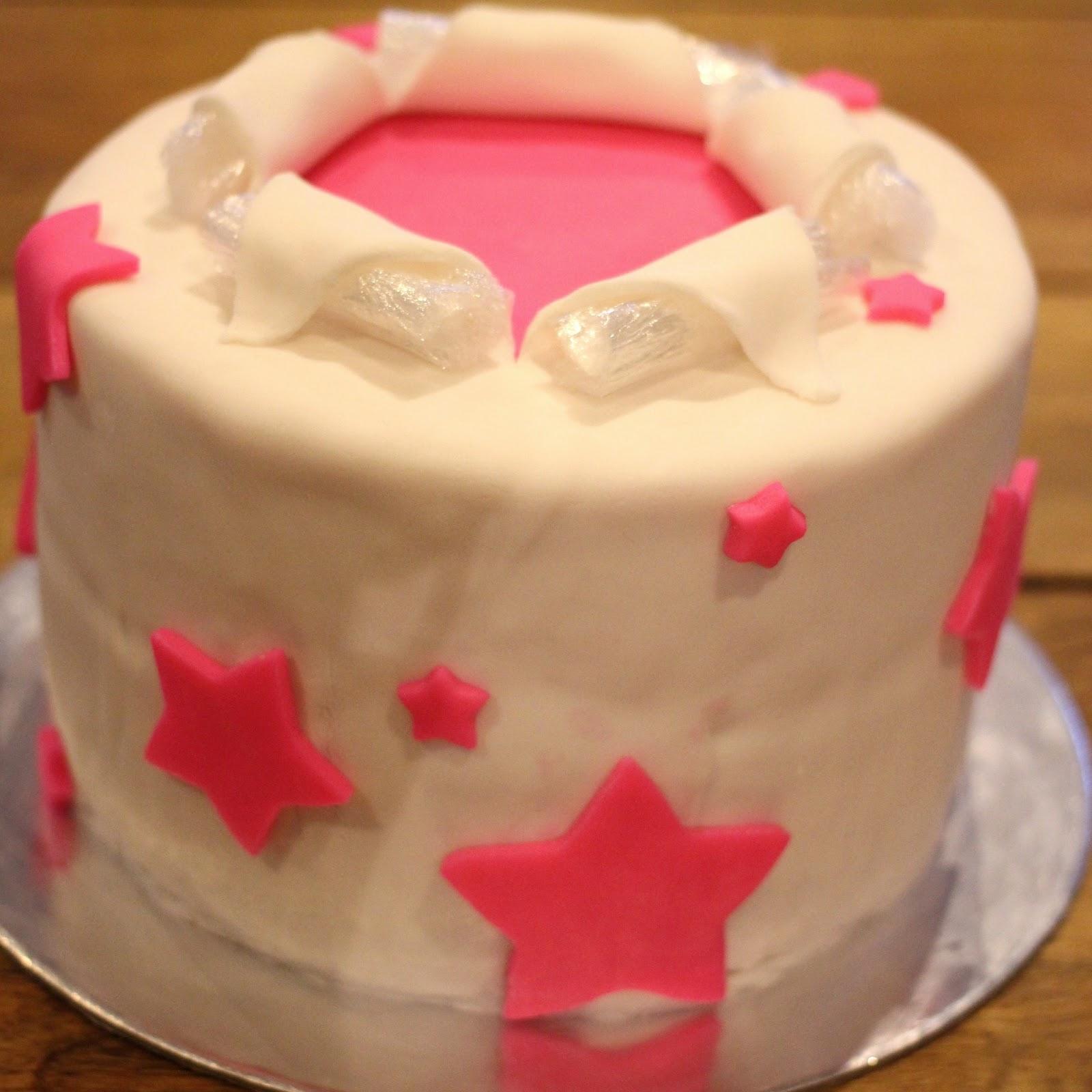 Putting Fondant Over Messy Cake