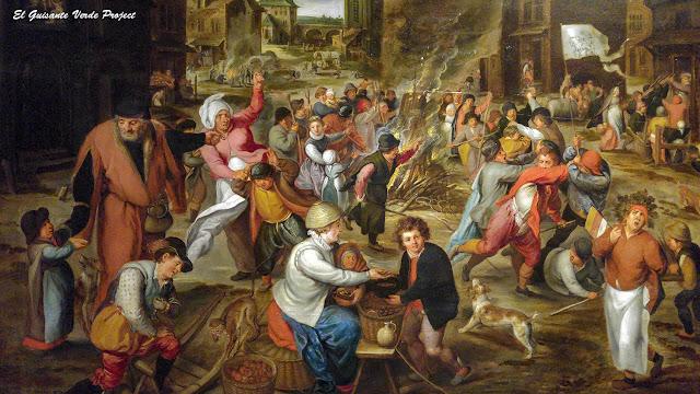 Marten I van Cleve 'Het Sint-Maartensfest' - Rubenshuis, Amberes por El Guisante Verde Project
