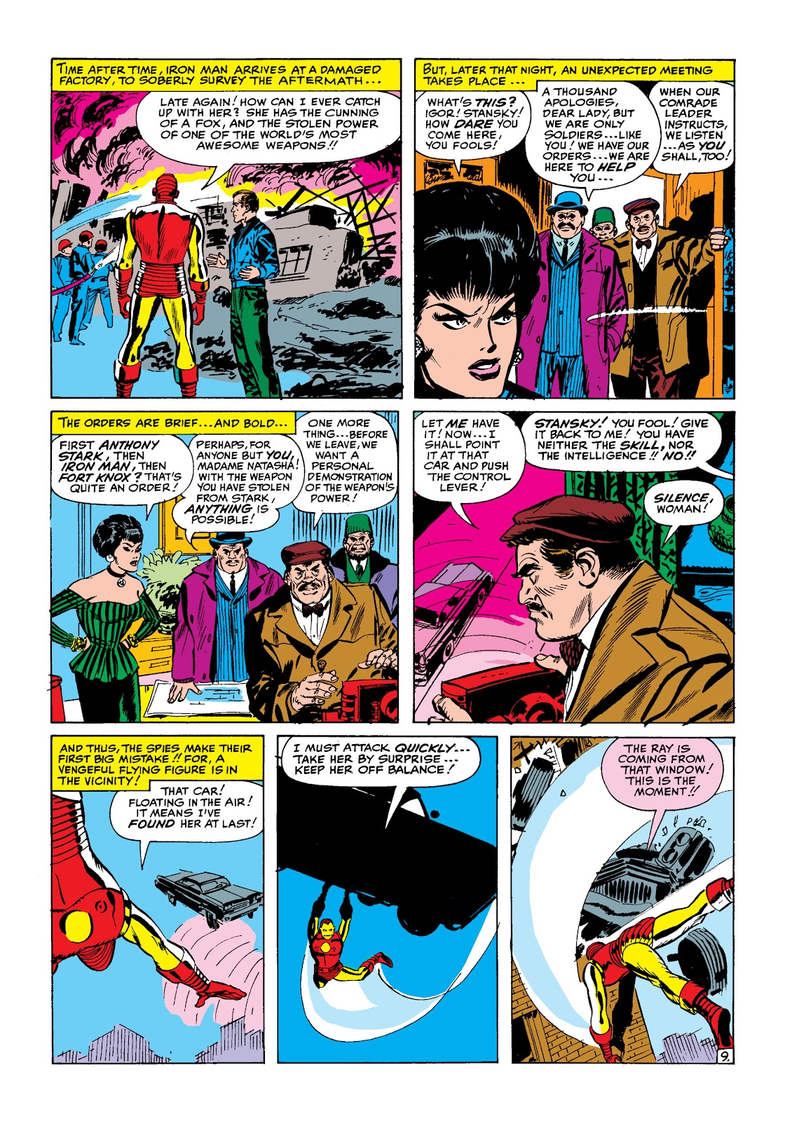 Read online Marvel Masterworks: The Invincible Iron Man comic -  Issue # TPB 2 (Part 1) - 40
