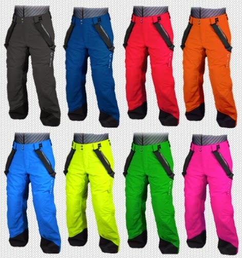 Artica Side Zip Pants 8 colors