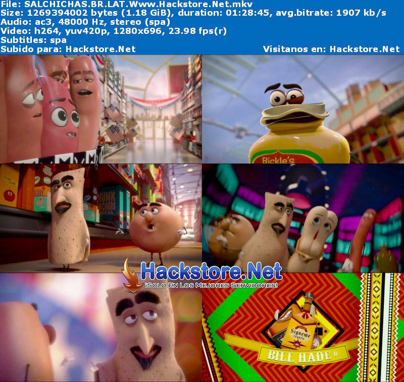 Capturas de La Fiesta de las Salchichas (2016) Blu-Ray RIP HD Latino