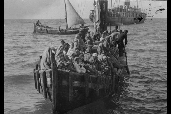 Greek refugees from Asia Minor