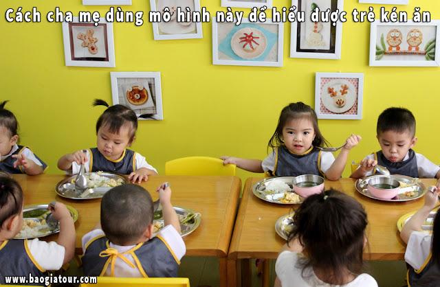 Cách cha mẹ dùng mô hình này để hiểu được trẻ kén ăn