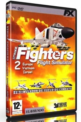 Fighters Europe Com: Strike Fighters 2 (Europe/Vietnam/Israel