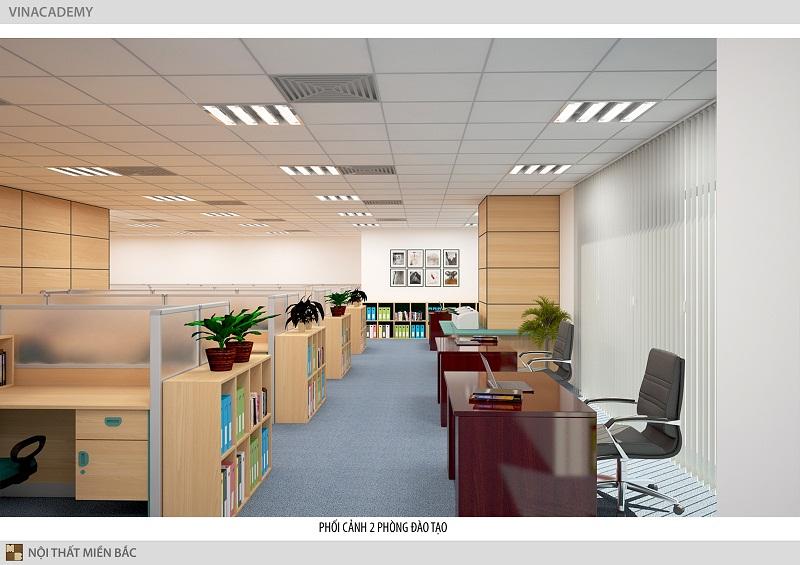 Thiết kế phòng làm việc đẹp đảm bảo công năng