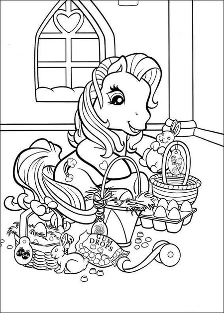 25 My Little Pony Cartoon Coloring Pages - Free Printable ...