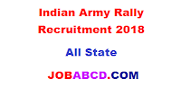 Indian Army Rally Recruitment 2018-19 | इंडियन आर्मी में रिक्त पदों पर भर्ती रैली  ,   Indian Army Rally Recruitment admit card  ,   Indian Army Rally Recruitment exam date ,  Indian Army Rally Recruitment physical date ,  Indian Army Rally Recruitment cutoff list ,  Indian Army Rally Recruitment result  ,   Indian Army Rally Recruitment joining letter , job abcd , abcd job ,abcd  jobs