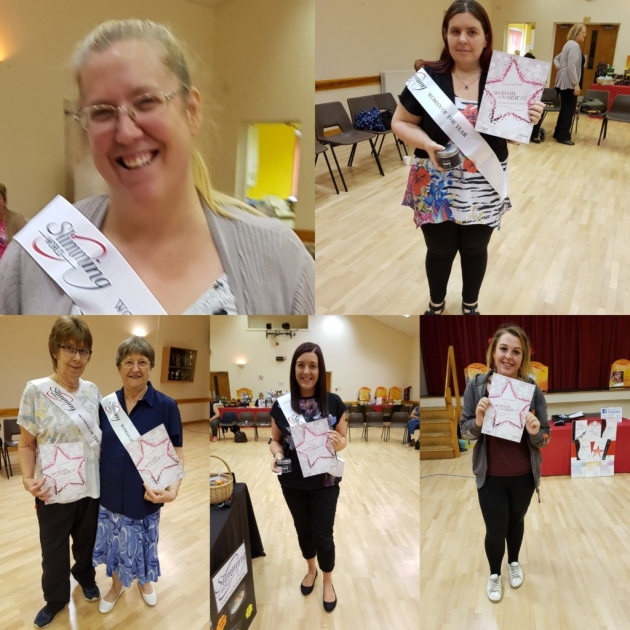 Doddington Slimming World winners