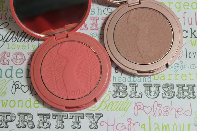 Tarte Amazonian Clay Blushes in Exposed & Blissful; Review, Swatches & Photos