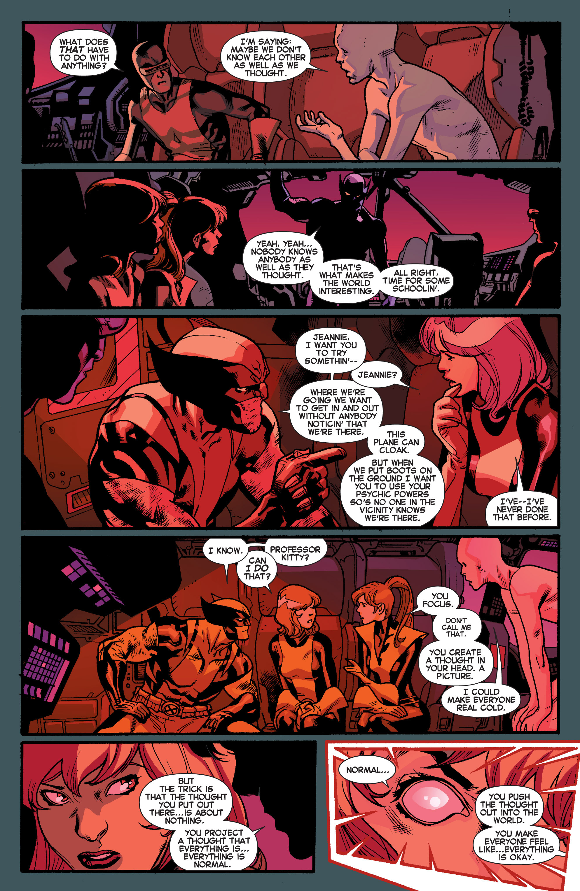 Read online All-New X-Men (2013) comic -  Issue # _Special - Out Of Their Depth - 52