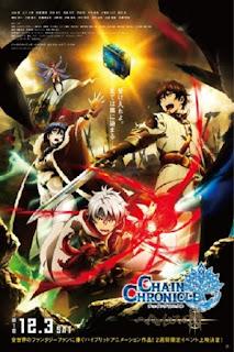 detail dan nonton trailer anime Chain Chronicle: Haecceitas no Hikari Part 1 (2016)