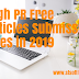 High PR Free Articles Submission Sites in 2019