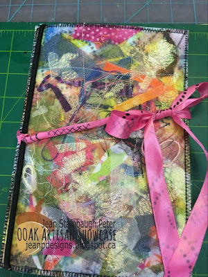 Jean Stambaugh Peter, Mixed Media Refillable Journal, OOAK Artisans