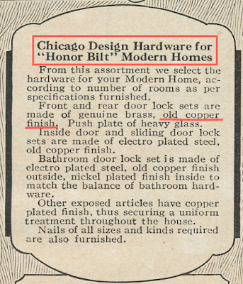 sears honor bilt chicago design door hardware catalog 1925
