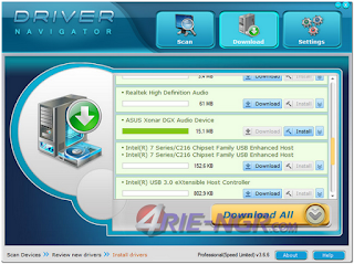 Driver Navigator 3.6.8 Full Terbaru