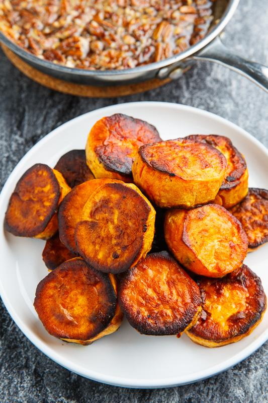 Maple Pecan Melting Sweet Potatoes