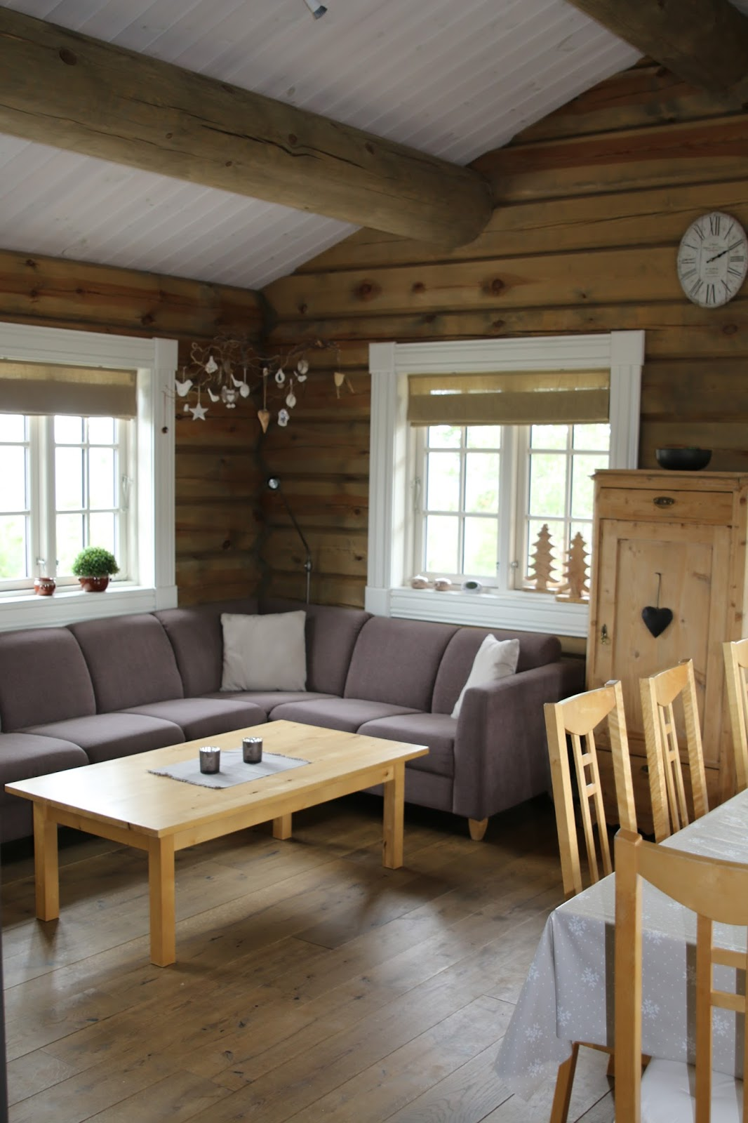 dressed with soul: norway: our very special holiday domicile - Traum Wohnzimmer Rustikal