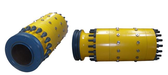 Pipeline mechanical connector flange subsea