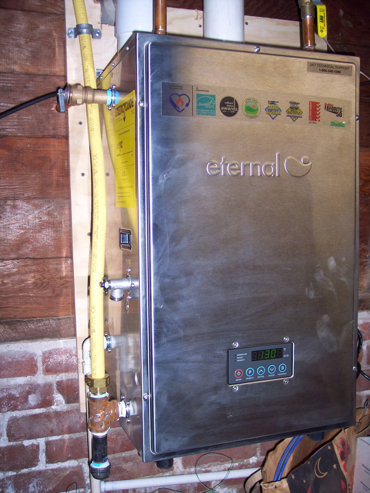 Recall Eternal Hybrid Tankless Water Heaters Care One