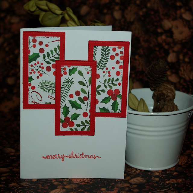 [DIY] Under the Mistletoe: Christmas Card // Weihnachten unterm Mistelzweig