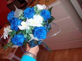 Ramos de Novia Color Azul, parte 3
