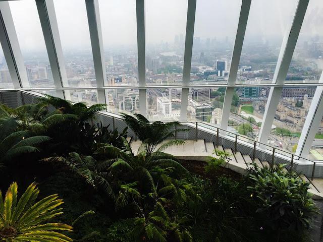 Sky Garden, view of London