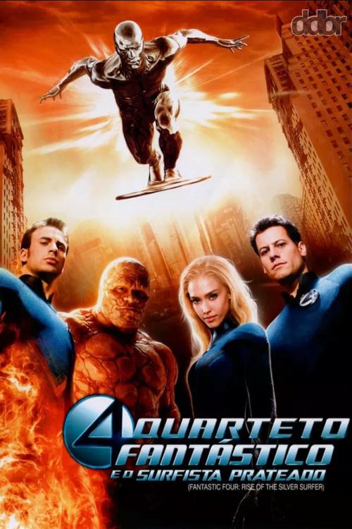 Quarteto Fantástico e o Surfista Prateado (2007)