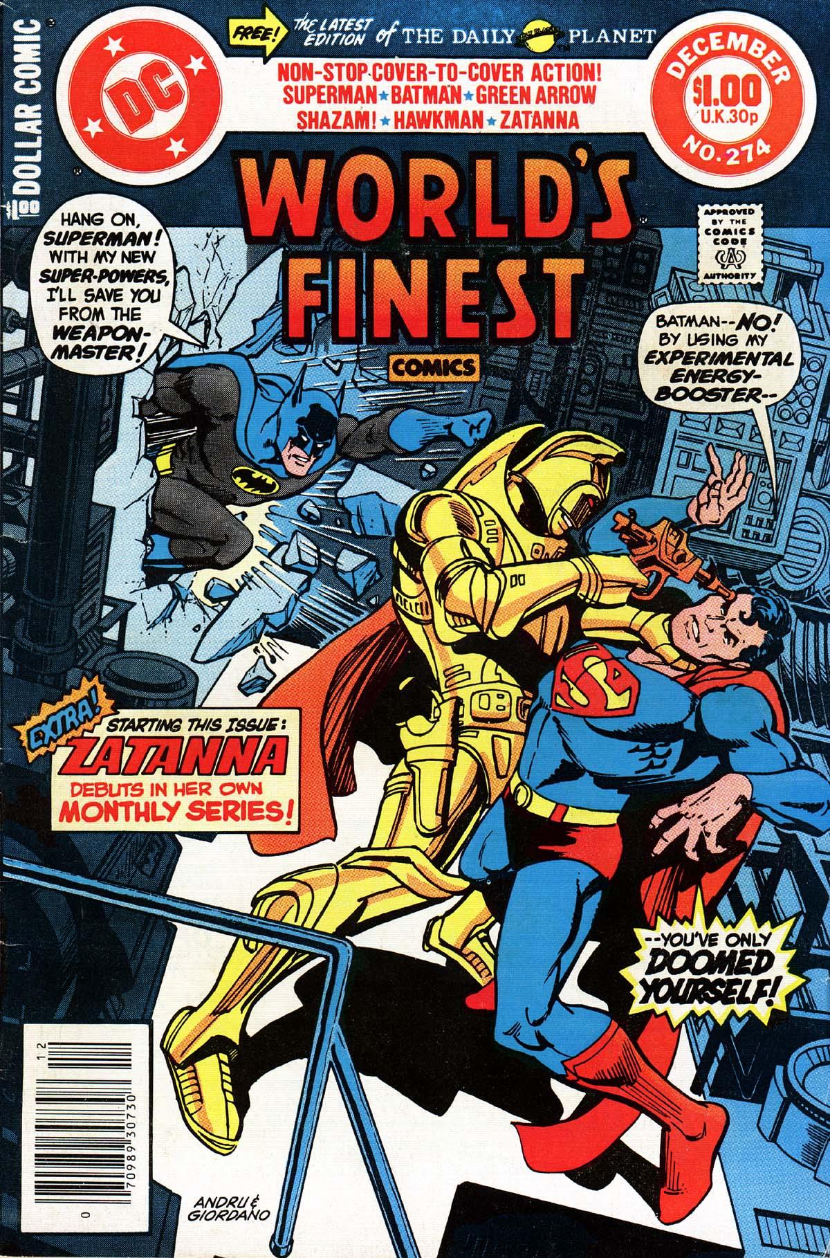 Read online World's Finest Comics comic -  Issue #274 - 1
