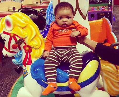 Wizkid's Alleged Son Is 3 Months (Photo)