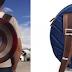 Mochila imita escudo do Capitão América