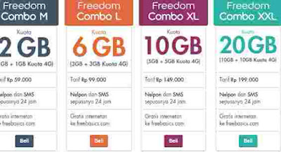Promo data XL murah kuota internet combo