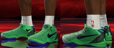 NBA 2K13 Nike Kobe 8 PS Elite 'Superhero' Shoes Patch
