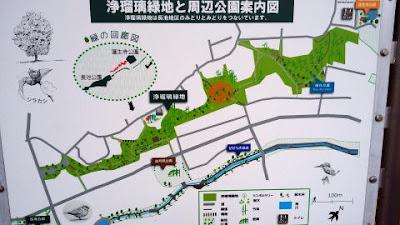 多摩散歩は、八王子市の浄瑠璃緑地