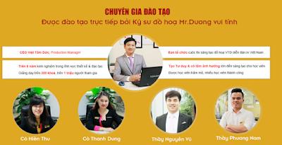 Giảng viên khóa học photoshop tại Hà Nội