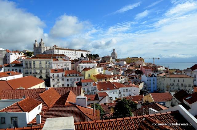 Lizbona z dzieckiem- lizbońskie miradouro