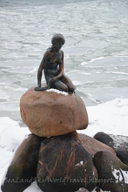 copenhagen, 哥本哈根, 美人魚像