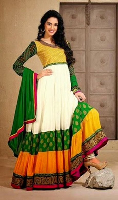 Anarkali Dress Design Photos