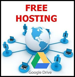 How to deployed or host website in Google drive for free