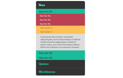 Accordion Tabs and Menus HTML5 & CSS3 - دروس4يو Dros4U