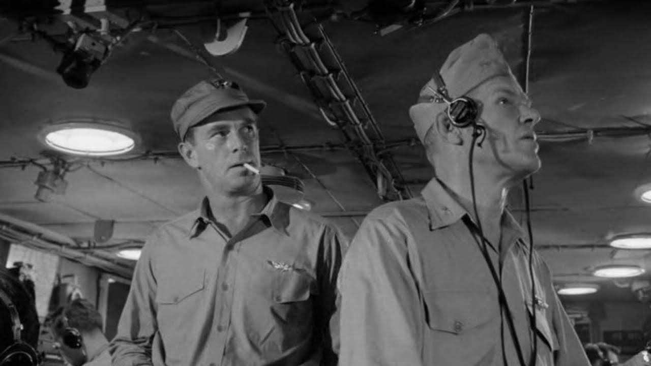 War Movie : The Eternal Sea (1955)