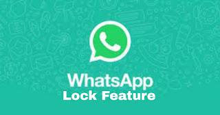 WhatsApp face lock ID
