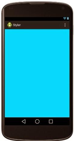Color holo blue como fondo