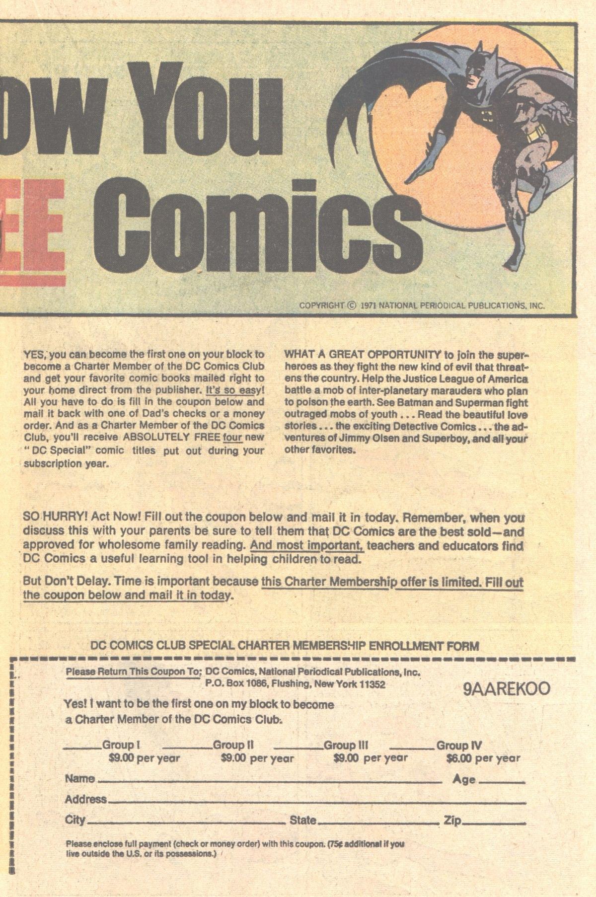 Read online Adventure Comics (1938) comic -  Issue #411 - 27