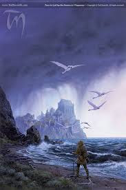 'Tuor is Led by the Swans to Vinyamar'© Ted Nasmith