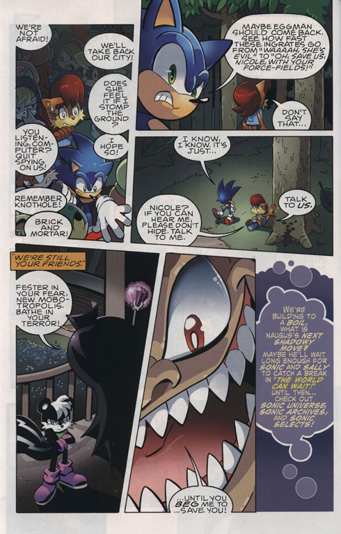 Read online Sonic The Hedgehog comic -  Issue #221 - 18