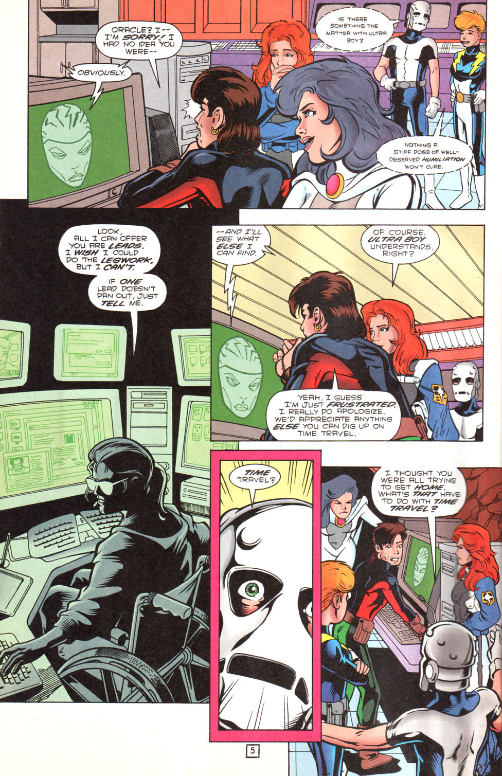 Legion of Super-Heroes (1989) 89 Page 4