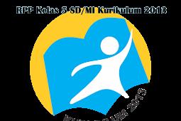 Download RPP Kelas 5 SD/MI Kurikulum 2013 Revisi 2018 Lengkap