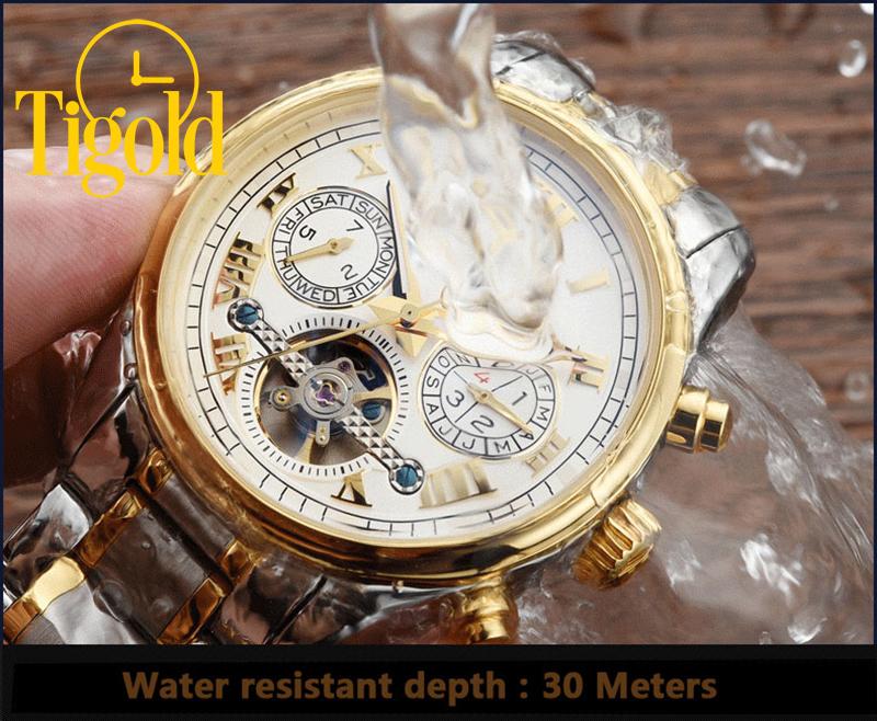 đồng hồ nam carnival chống nước