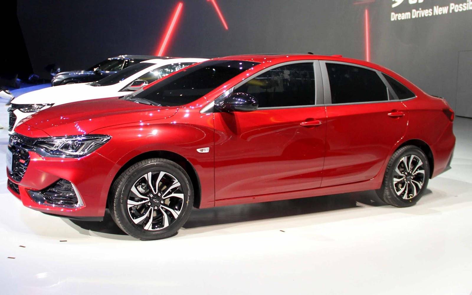 Chevrolet Monza Chega Para Enfrentar Jetta E Corolla China Car
