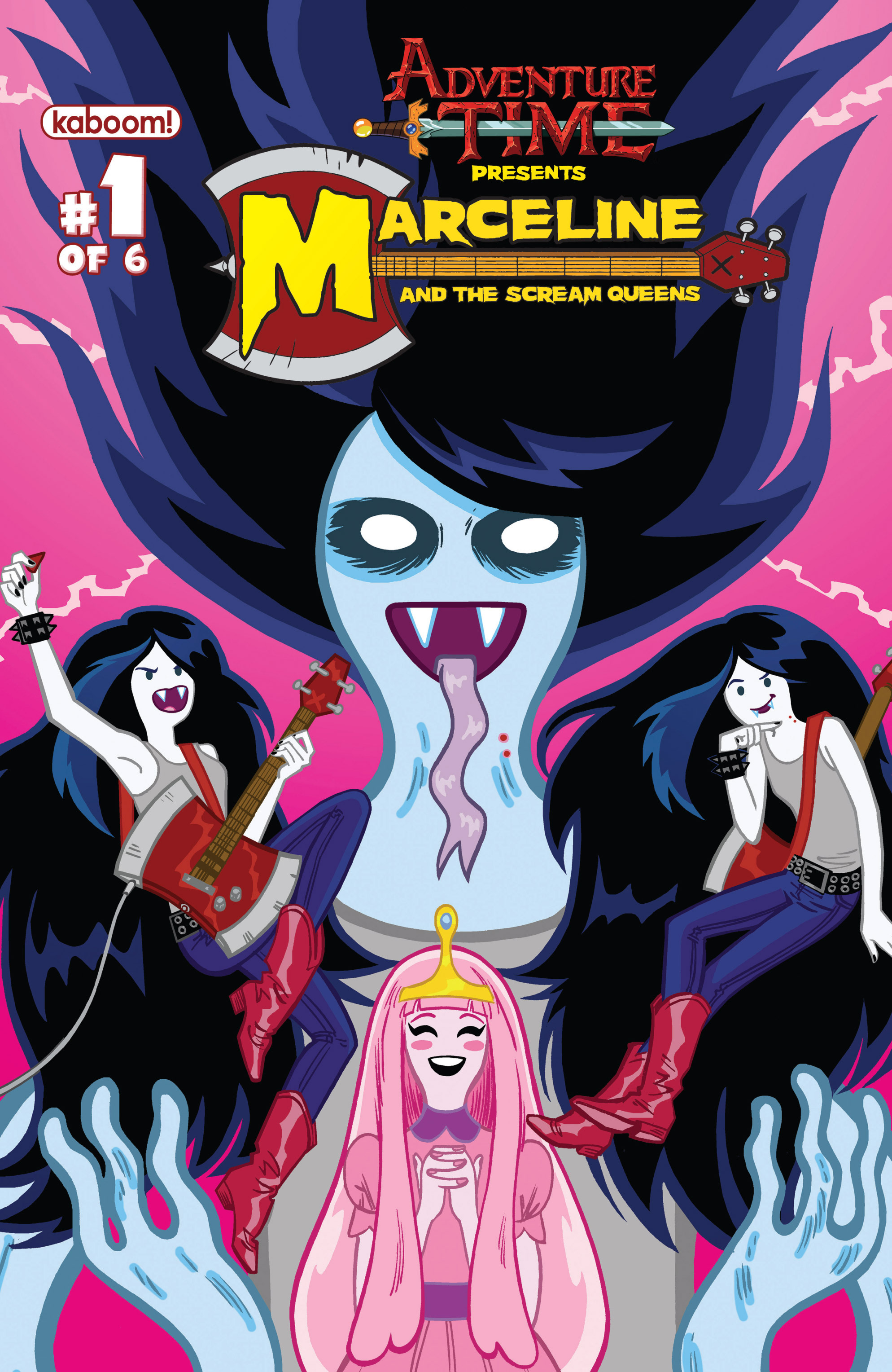 Read online Adventure Time: Marceline and the Scream Queens comic -  Issue #1 - 2